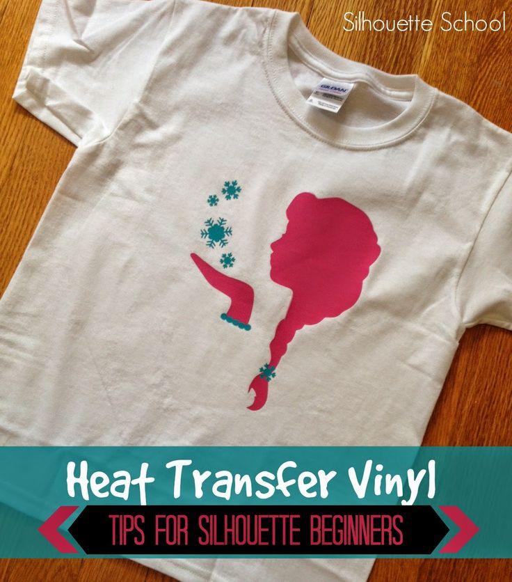 Silhouette Heat Transfer Vinyl Tips for Beginners ~ Silhouette School