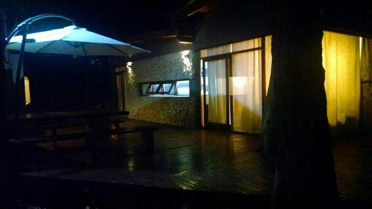 Vista nocturna deck