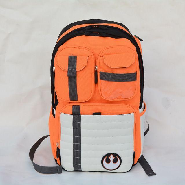 Новые звездные войны рюкзак повстанцы логотип альянс иконка холст подросток школа мешок оптовая продажа детей школьный высокое колледж рюкзак