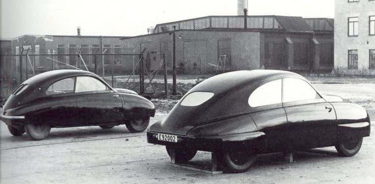 OG |1949 Saab 92 | Mock-ups