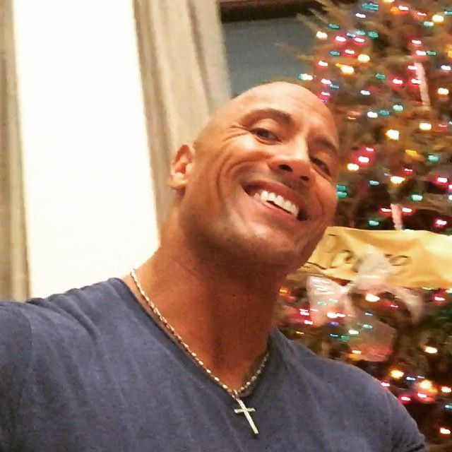 Pin for Later: Dwayne Johnson Is Cute, but His Baby Girl Jasmine Is Even Cuter