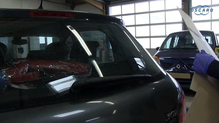 Peugeot 307 - Cómo cambiar la escobilla del limpiaparabrisas trasero
