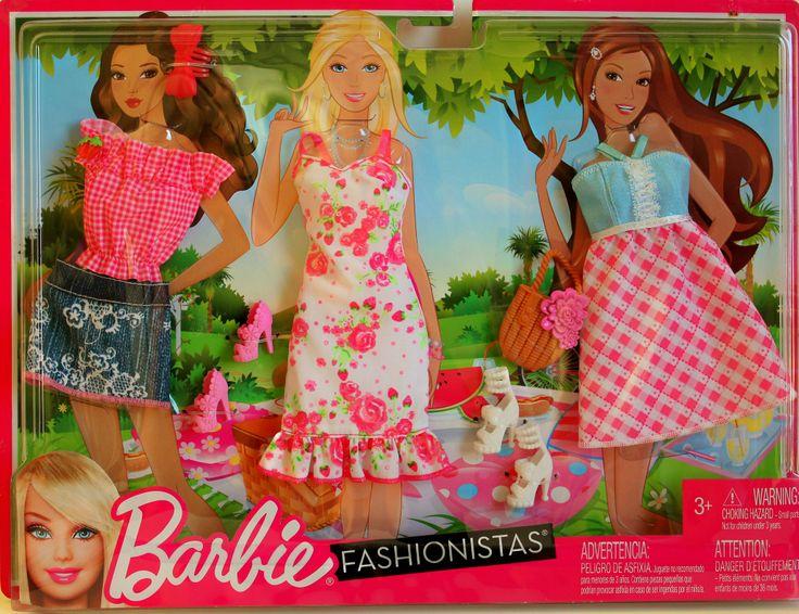 Barbie® Fashionistas® Picnic Fashion Pack $14.99