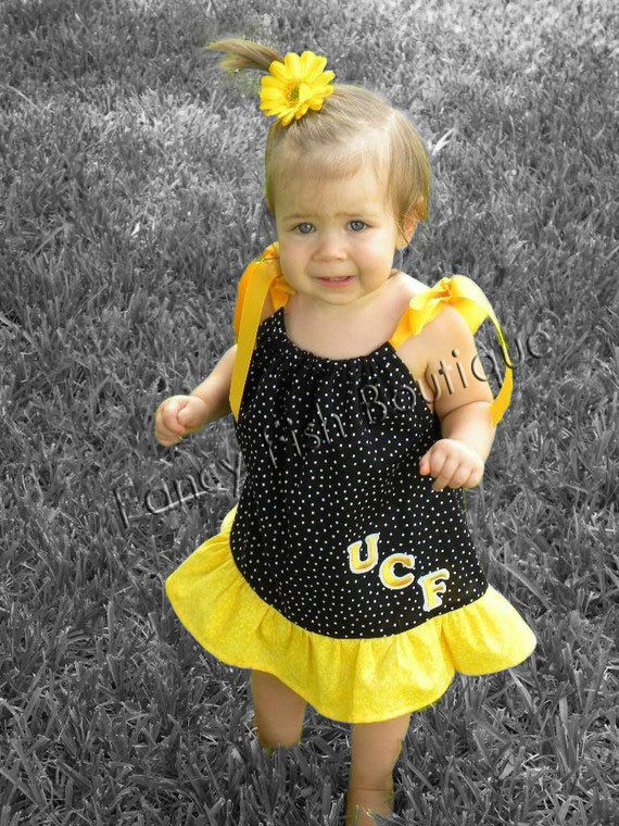UCF dress for little girl: Changing Colors, The Dress, Makavia Style, Baby Knights, Baby Girls, Kid