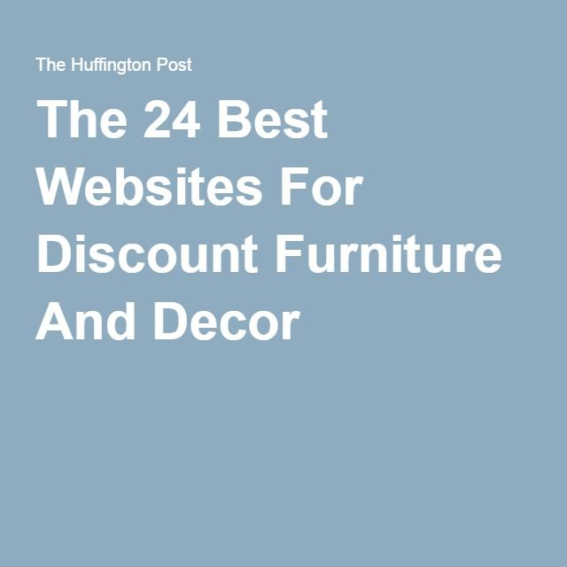 Furniture Discount Sites: Best 25+ Discount Furniture Ideas On Pinterest