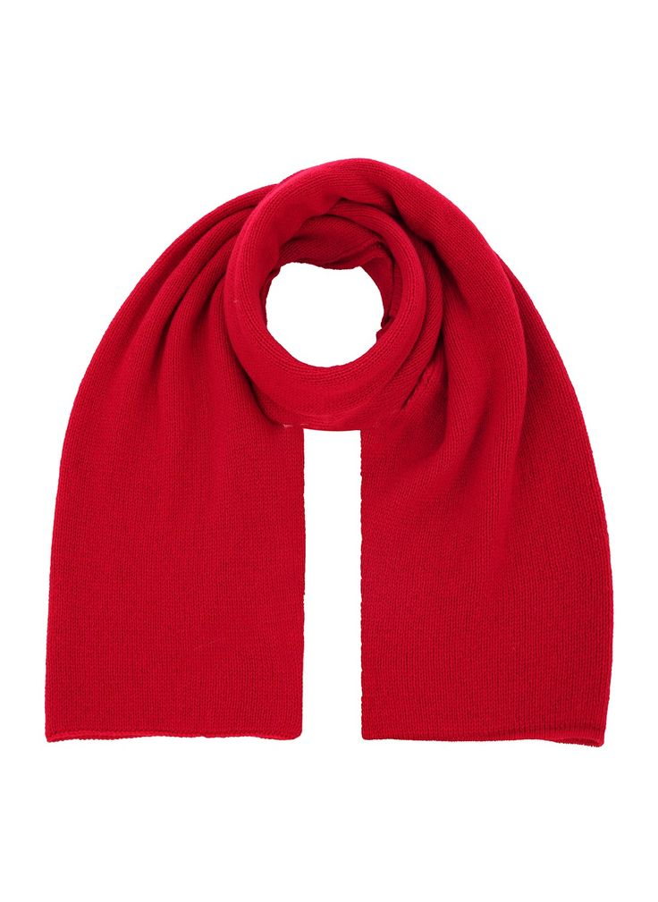 Cashmere Gauzy Knit Scarf - Scarves and Stoles | Brora