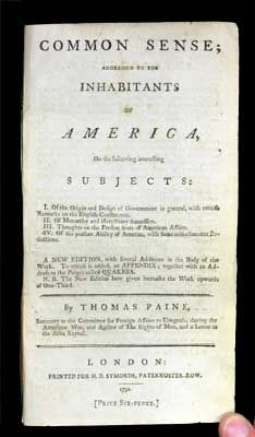 modern history of sourcebook thomas paine A definitive contribution for scholars and graduate students researching the life  and work of thomas paine from the preface by ronald f king: this volume is.