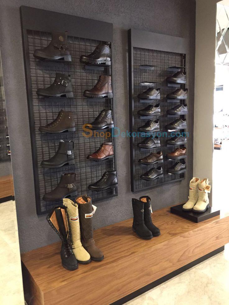 ayakkabı mağazası rafı KML805 7