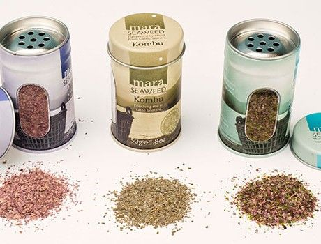 Mara Seaweed shaker tins