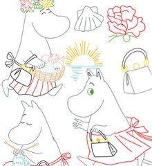 MOOMIN / Moomin Mamma - Embroidery Patterns