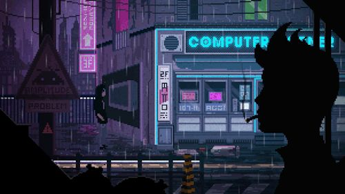 Musicvideo: COMPUTER CORNER by Valenberg (art) and Amplitude Problem (music) BLUEBOTSDOTS   BANDCAMP   DEVIANTART   FACEBOOK