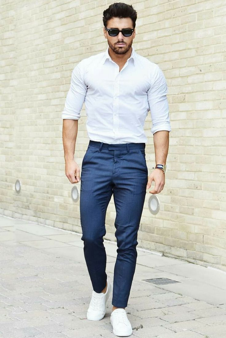 How To Wear White Trousers - Modern Men's Guide