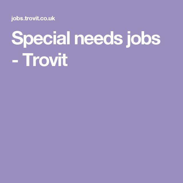 Special needs jobs - Trovit