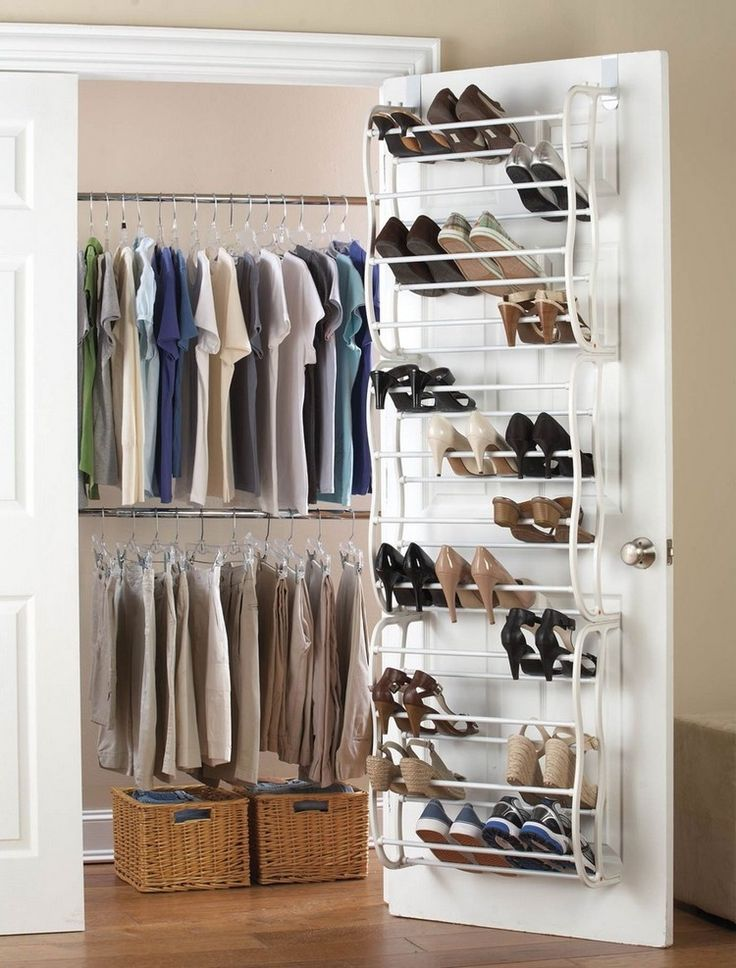 Organiseren Garderobe Bespaar Ruimte Tips Schoenen Delen Design Kleider In 2020 Schrank Schuhablage Kleiderschrank Platzsparend Hangendes Schuhregal