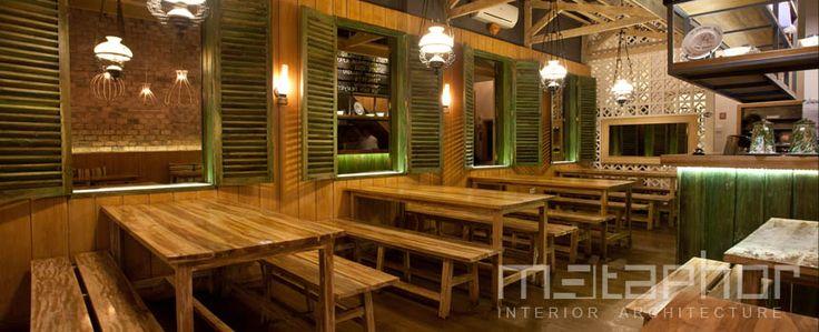 Gerobak Betawi, Jakarta – INDONESIA   METAPHOR   Interior Designer Jakarta and Singapore for Restaurant, Hotel, Office, Commercial, Retail, Cafe, Residential, Show Unit