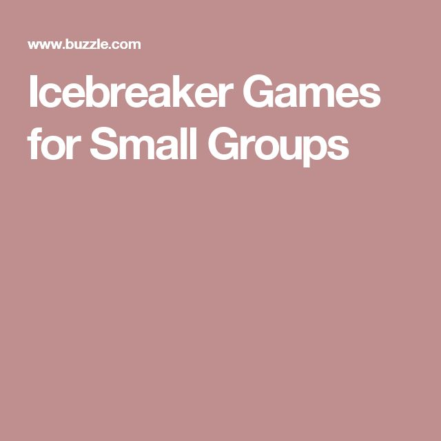 Christmas Party Icebreaker Games For Adults: 17 Best Ideas About Icebreakers For Small Groups On