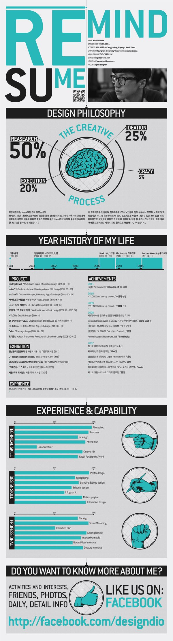 best ideas about cv modelos infographic self promotion 2011 on behance