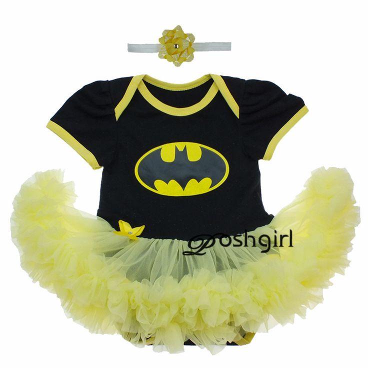 New Minnie Batman Superman Vestito Dalla Ragazza Regalo Di Compleanno Neonato per Le Neonate Partito Outfit Abbigliamento Bebe Pagliaccetto Infantile Tutu Abiti