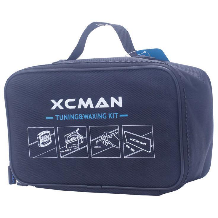 XCMAN Ski Snowboard Compleet Waxen En Tuning Kit Storge Tas Voor Travling en Storge Gereedschap Pouch Met Rits