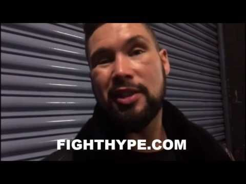 TONY BELLEW IMMEDIATE REACTION TO ANTHONY JOSHUA'S KO OF MOLINA AND KLITSCHKO FIGHT ANNOUNCEMENT - http://www.truesportsfan.com/tony-bellew-immediate-reaction-to-anthony-joshuas-ko-of-molina-and-klitschko-fight-announcement/