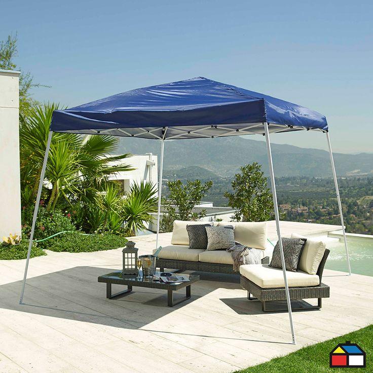 Toldo plegable metálico Oxford con protección solar UPF +50 #Terraza #Jardin