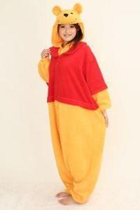 Winnie THE Bear Disney Costume Kigurumi Cosplay Pajamas Party Adult Onesie Dress | eBay
