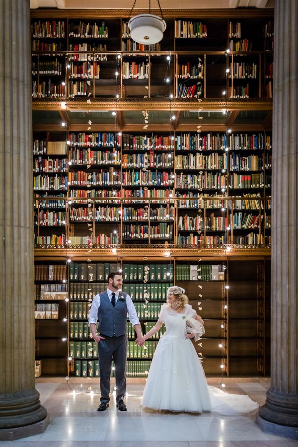 Library Wedding Inspiration at the James J Hill Library | Carina Photographics | Ask for the Moon Events  | Reverie Gallery Wedding Blog