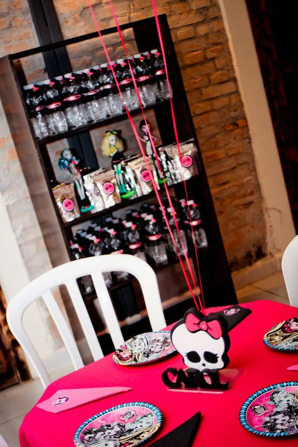 Monster High 8th Birthday Party via Kara's Party Ideas   Kara'sPartyIdeas.com #monster #high #birthday #party (33)