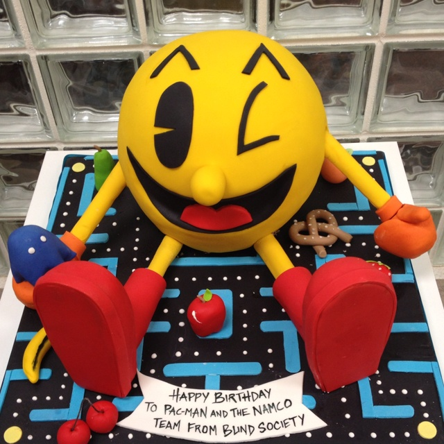 PAC MAN S 32nd Birthday Cake Themes Ideas Favors Pinter