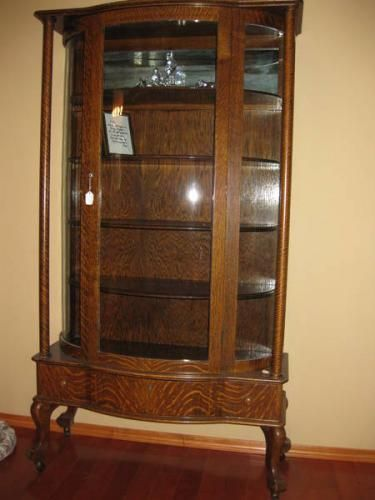Antique China Cabinets | ANTIQUE 1910 China Cabinet for sale in Medicine Hat, Alberta ...