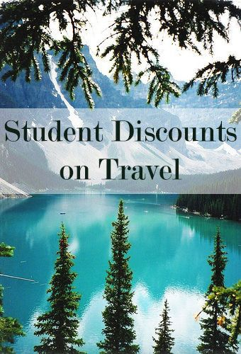 Get student discounts on travel! Flights, rental cars, hotels etc