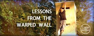 Lessons from Obstacle Training - What Life Obstacle are YOU choosing to attack today? Whatever it is, is there a more efficient & vibrant way to live? We will all make decisions and act on something today whether it's based on Truth and potential or lies and fear.  Read more at http://iamfortified.com/thewarpedwall/#5yYPzyX3Xt1XXxvC.99