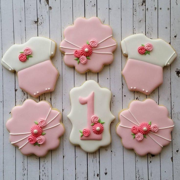 baby shower cookies baby cookies sugar cookies first birthday cookies