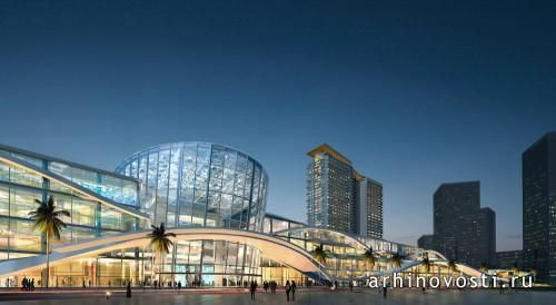 Торговый центр Reem Mall & Carina Views от KEO International Consultants. Абу-Даби, ОАЭ.
