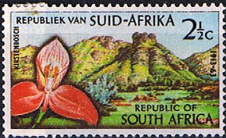 South Africa 1963 SG 223 Botanic Gardens Fine Mint                    SG 223 Scott 284          Condition Fine MNH    Only one post charge applied on