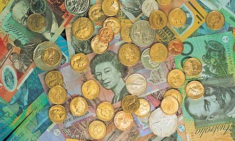 Australian Currency   Australian currency