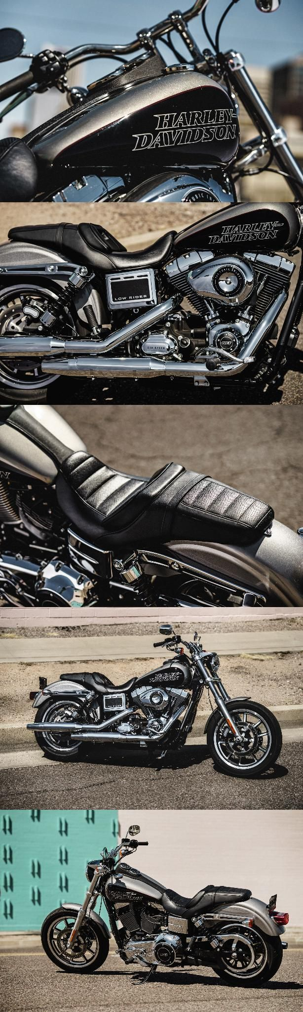 The Harley-Davidson Low Rider motorcycle is back with a vengeance. Easy-riding street custom style hits a new low. And a new high.