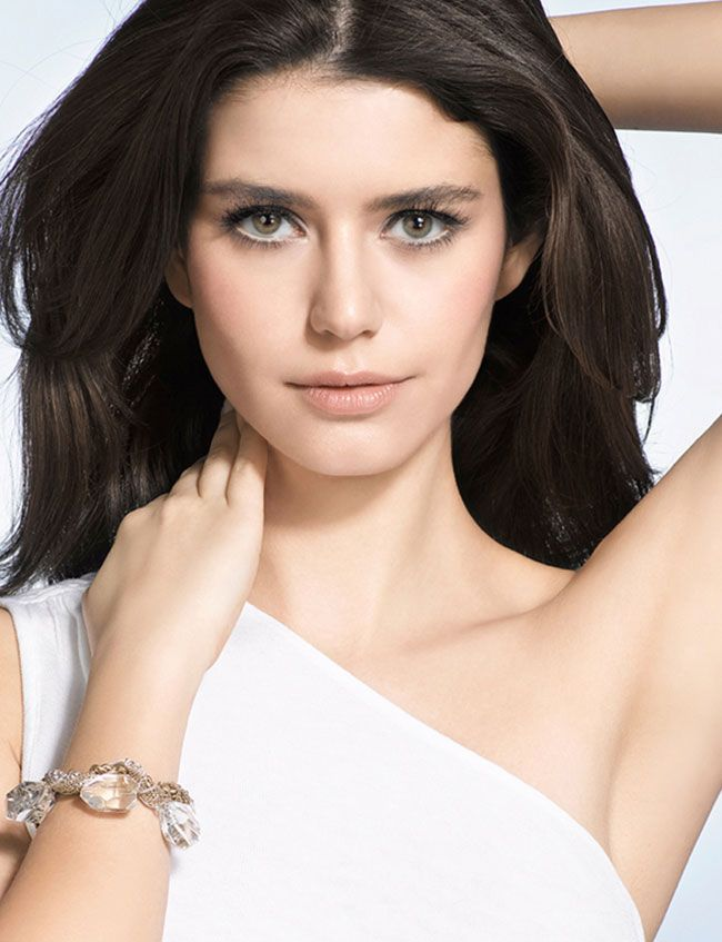 Actress Beren Saat is very popular in Turkey