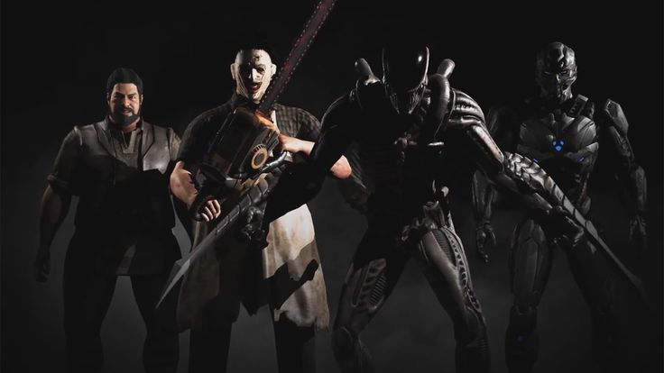 The four (technically six) upcoming  DLC characters for MKX, including two guest characters including: Leatherface and the Xenomorph, who has come with some upgrades.