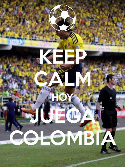 Keep Calm. Hoy juega la Tricolor