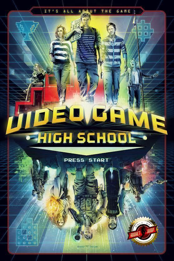 Video Game High School Season 1 Poster