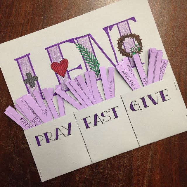 Ash Wednesday is fast approaching, and while I have my own goals for this Lent, I also seek to guide the Lenten experiences of my students.  I have some classroom activities in place that we do each L