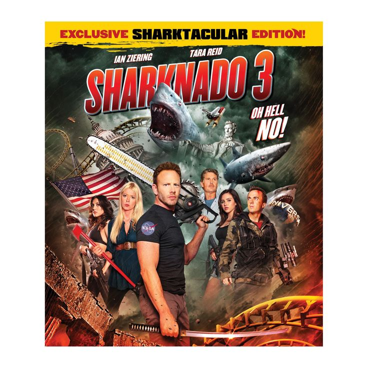 Sharknado 3:Oh Hell No (Blu-ray)