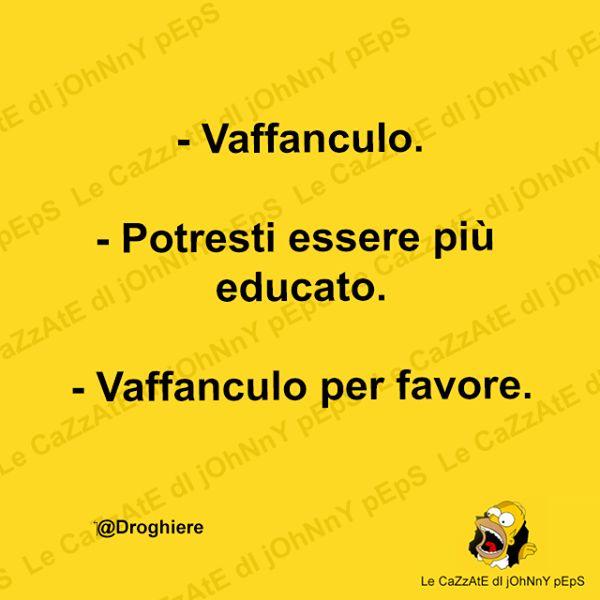 Educazione...
