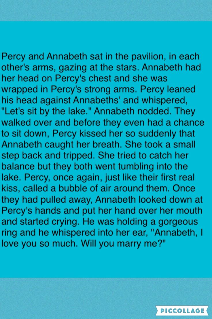 Percabeth fanfiction. Percabeth engagement. Fanfic by Abby Laird. Please don't remove this caption!
