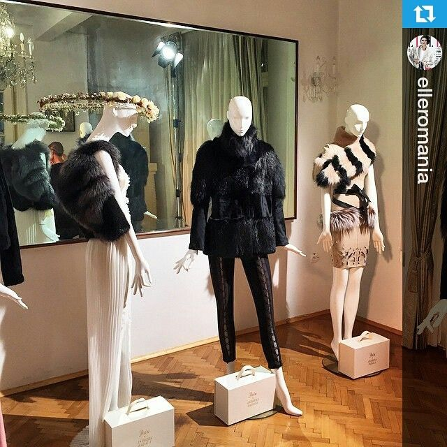 """Fur new #Capsule #Collection #Paisi #AndreeaBadala now @ Atelier Païsi ❤❤❤ #PaisiXAndreeaBadala Thank you @elleromania! #Repost @elleromania ・・・…"""