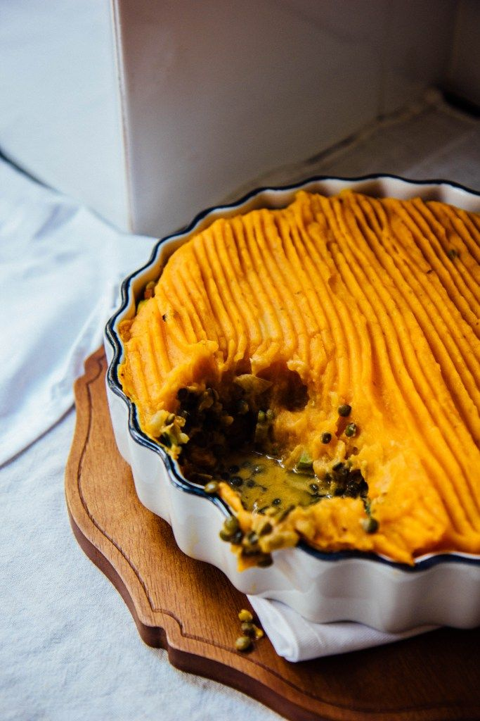 curried french lentil cottage pie   theswirlingspoon.com