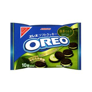 Nabisco Oreos with Matcha flavored frosting for $4.26 at marukaistore.com !! I don't know what it is with me and green tea, but I like it ;)