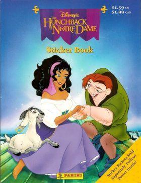 Disney Panini The Hunchback of Notre Dame Sticker Storybook album