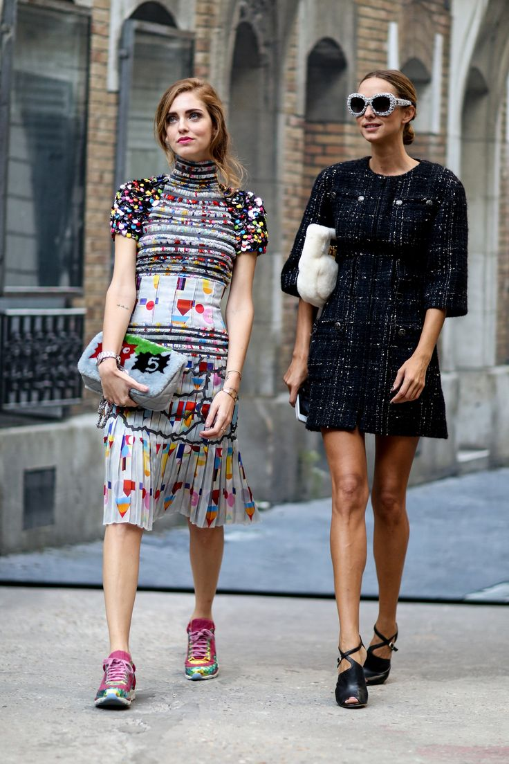 Chanel | Paris Fashion Week SS15 Street Style